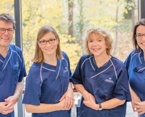 Das Ärtzeteam von Herrn Dr. Pfundstein | München | Gastroenterologe | Magenspiegelung | Darmspiegelung